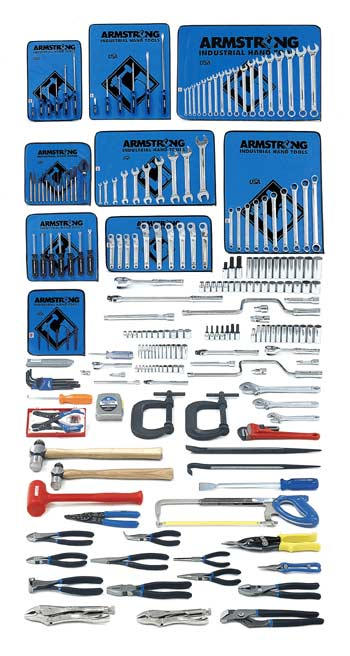 Armstrong 229 Pc. Metric Intermediate Set - Tools Only- Free Shipping!