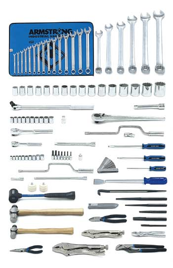 Armstrong 416 Pc. Master Mechanics Set - Tools Only - Free Shipping