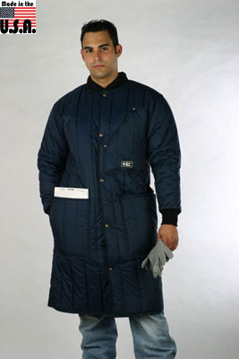 PolarWear Coat / Frock liner, below knee length, 4 pocket (rated to zero F) - American Made