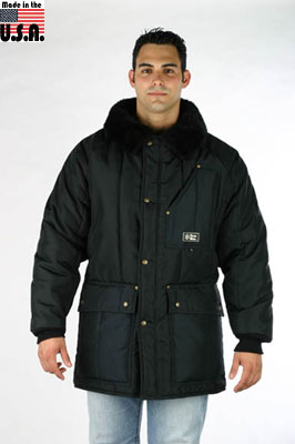 PolarWear Jacket, Extreme Cold fingertip / thigh length (rated to -55F) - Made in America