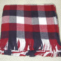 Cotton throw Blanket: - Patriotic - American Made