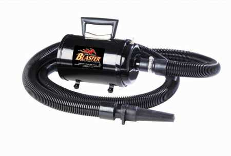 Metro Vacuum Air Force Blaster 10 Amp 4 HP Motorcycle Dryer - American Made