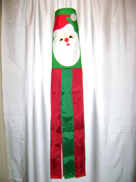 Santa Windsock Made in America