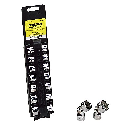 Craftsman 7 pc. Standard Flex Socket Set, 6 pt., 3/8 in. Drive