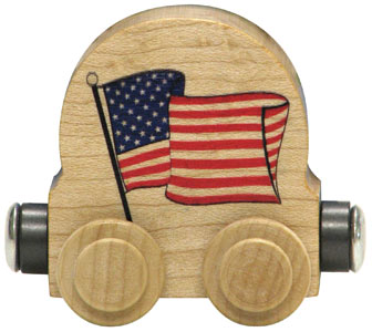 Maple Landmark Flag Car Made in America