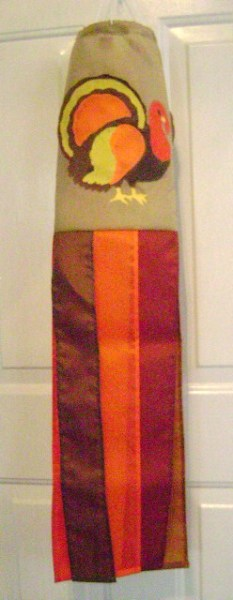 Turkey American Made Windsock
