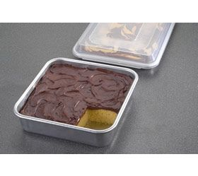 3 pc Baking Set - Quarter Sheet and Cake Pan Combo Pack with Lid