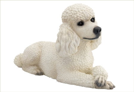Poodle Pet Cremation Urn / Sculpture - American Made