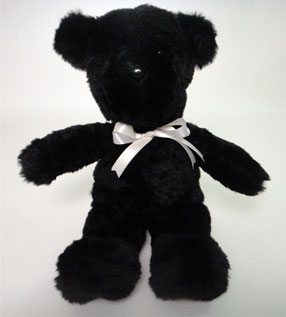 Sweetie Black Bear Stuffed Animal Made in America