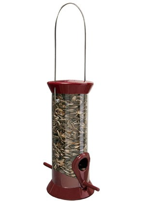 "The New Generation 8""  Sunflower/Mixed Seed Bird Feeder Made in America"