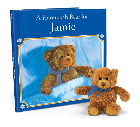 A Hanukkah Bear For Me Personalized Storybook - American Made