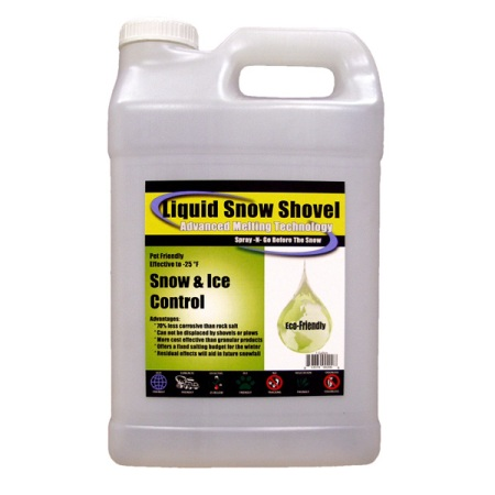 Liquid Snow Shovel Ice Melt Made in USA- 2.5 Gal