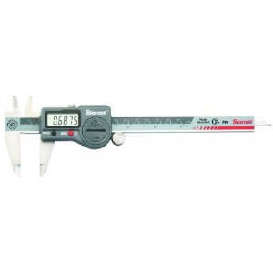 "Starrett 798A-6/150 Digital Caliper, IP67, LCD, Battery Powered, 0-6""/0-150mm Range"