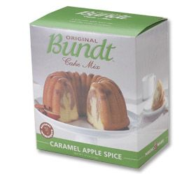 Caramel Apple Spice Bundt Cake