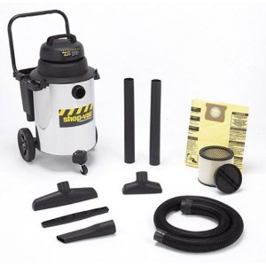 Shop-Vac 10gallon 6.5hp stainless steel w/d vac - Made in USA!