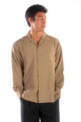 Two Pocket Long Sleeve Shirt Made in USA