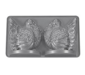 Nordic Ware 3D Turkey Cake Pan Made in USA