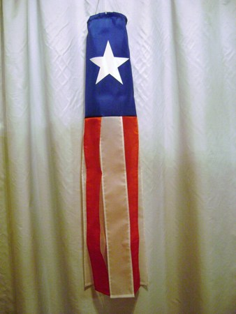 Texas Lone Star Windsock Made in America