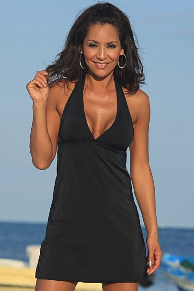 SLIMsational Swim Dress