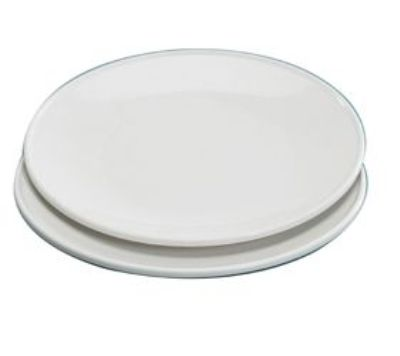 Microwaveable Dinner Plates Made in USA - 10 inch - Set of 2