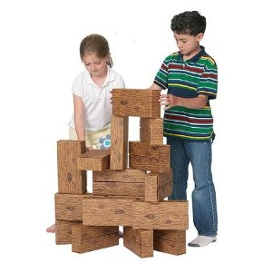 Smart Monkey 16 Pc GiantTimber Set Made in America