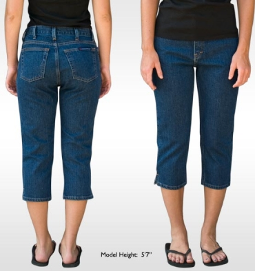 Ladies Denim Capri American Made