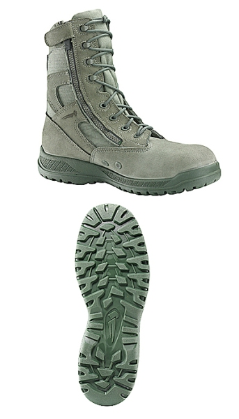 610 Z - Belleville Hot Weather Tactical Side Zip Boot Made in USA