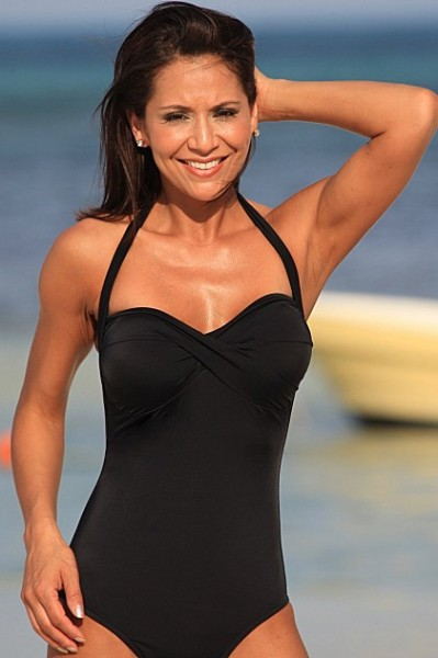 "High Cut Monroe Swimsuit - Made in America - <FONT FACE=""Times New Roman"" SIZE=""+1"" COLOR=""#FF0000""> On Sale Now! </font>-"