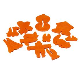 3-D Halloween Cookie Cutters Made in USA