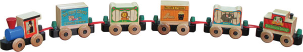 Maple Landmark Circus Railway - 6 Piece Boxed Set - Made in America
