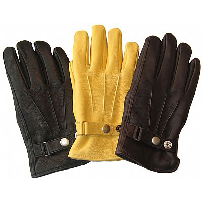 Mens Deerskin Leather Dress Gloves Made in America