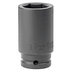 "CRAFTSMAN USA 1-3/16"" Impact Socket 6pt Deep Inch 3/4"""