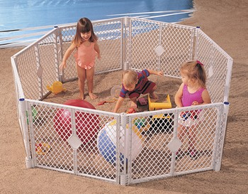 Superyard Classic Plastic Play Yard Made in USA