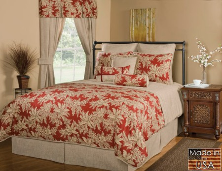 Victor Mills Abaco Comforter Set Made in USA