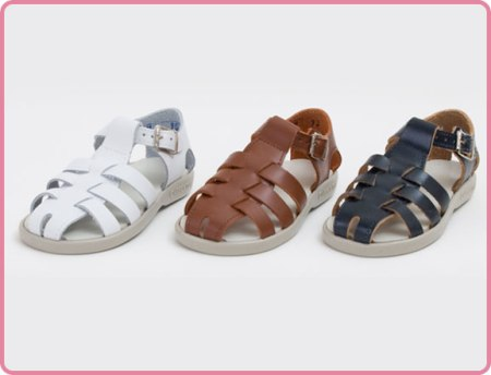Children's Fisherman Sandals Made in America