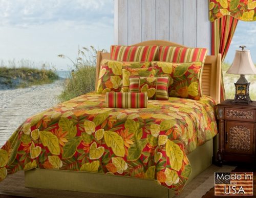 Victor Mills Bridgetown Comforter Set Made in USA