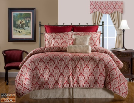 Victor Mills Burbury Comforter Set Made in America
