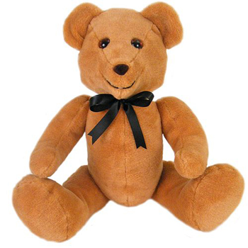 Stuffed Teddy Bear Classic Made in USA