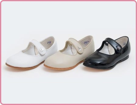 Children's Strap Dressy Shoe Made in USA