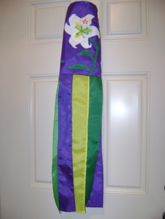 Easter Lily American Made Windsock