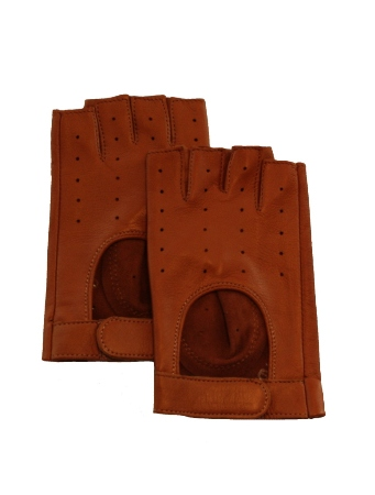 Mens American Made Fingerless Driving Gloves