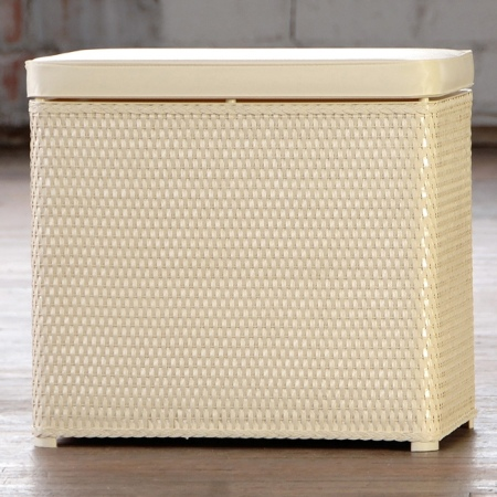 Lamont  Carter Bench Hamper Made in America