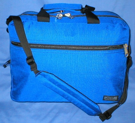 Battle Lake Outdoors Black Laptop Computer Briefcase Made in USA