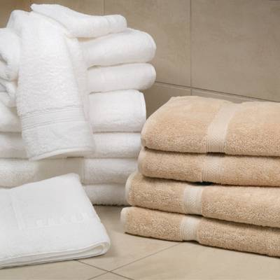 Magnificence Plush White Towels  Made in USA by 1888 Mills