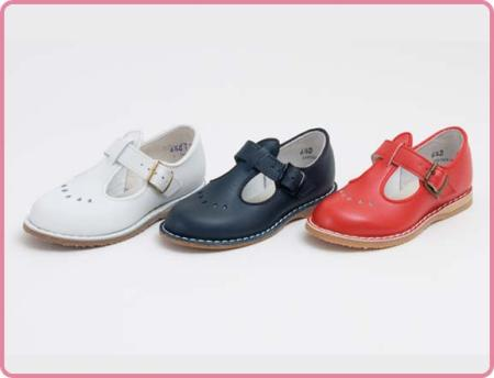 Children's Dressy T Strap Shoe Made in USA