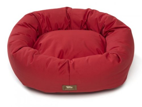 Organic Bumper Dog Bed, Cat Bed Made in USA