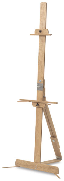 Solid Oak Professional Easel Made in America by American Easel