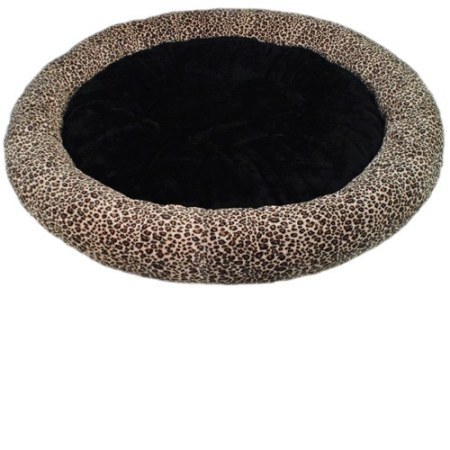 "45"" Slumber Circle Pet Bed (Black) Made in USA"