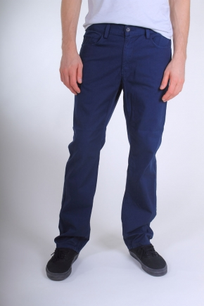 Alex Maine Compact Twill Prime USA Made Pants - Navy