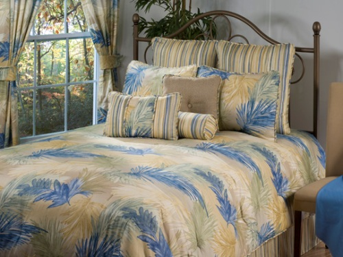 Victor Mills Passion Clay Comforter Set Made in USA